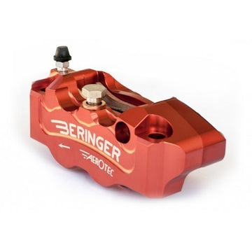 Beringer 4-Piston Left Aerotec radial Caliper 100mm (for use w/ Ohlins FG 324/424 Fork)
