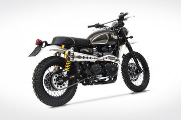 Zard Scrambler High Pipe Special Edition