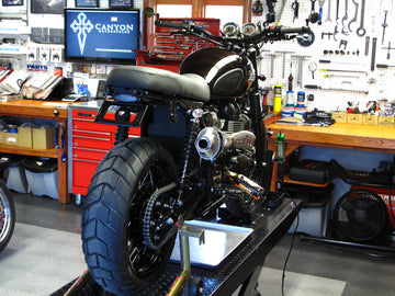 Zard Scrambler High Pipe System