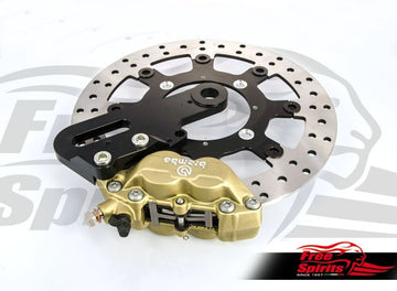 Street Twin & Street Cup Rear Brake Kit Rotor & Caliper