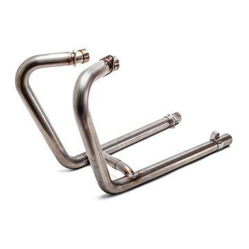 British Customs Drag Pipe Exhaust System