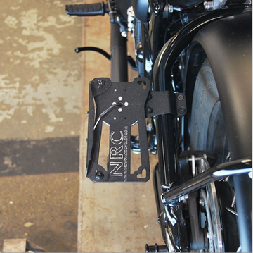 NRC Bobber Side Mount License Plate (2 Position)
