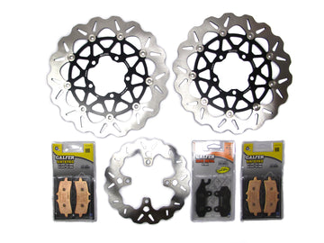 Galfer Stage 1 Bonneville T120 Brake Kit