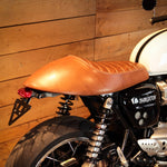 Racer leather seat for Triumph - Thruxton 1200/R