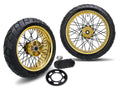 Thruxton Speed Twin/1200/R Supermoto Gold 17x5.5, 17x3.5 Stage 2