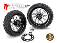 40 Spoke Alloy Big Wheeler Kit