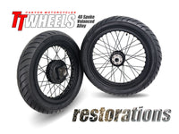 Restoration Wheel Kit 40 Spoke Alloy Stage 2