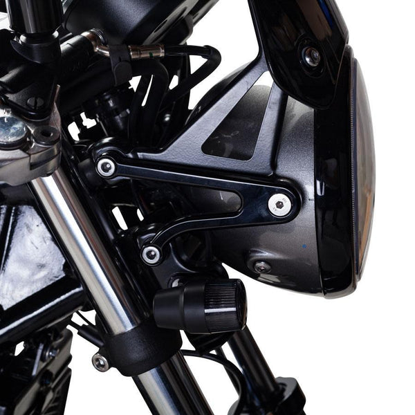 British Customs Race Billet Headlight Ears