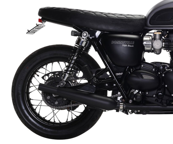 Sleeper Pro™ Slip On Exhaust - Bonneville T100/T120 (Liquid Cooled)