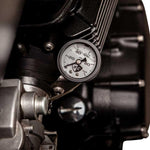 British Customs Oil Pressure Gauge