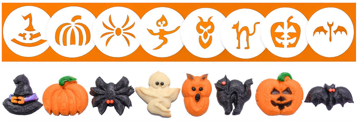Halloween 8 Disk Set for Cookie Presses