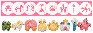 Princess & Fairytales 8 Disk Set for Cookie Presses