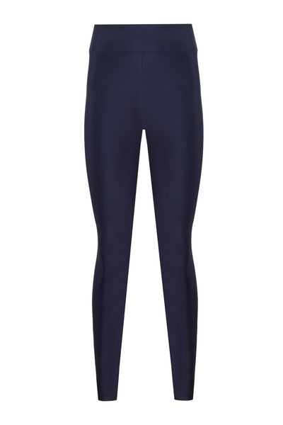 Stella High Waist Shiny Leggings - Opera at Midnight
