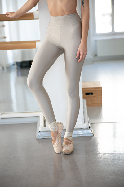 Stella High Waist Shiny Leggings - Rivoli Galleries - Deux Beautés