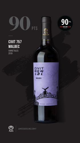 Civit 757 Malbec Carton x 6 bottles.