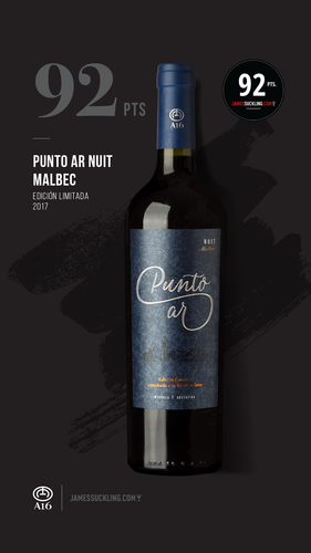Punto AR Malbec Nuit Limited Edition Carton x 6 bottles.