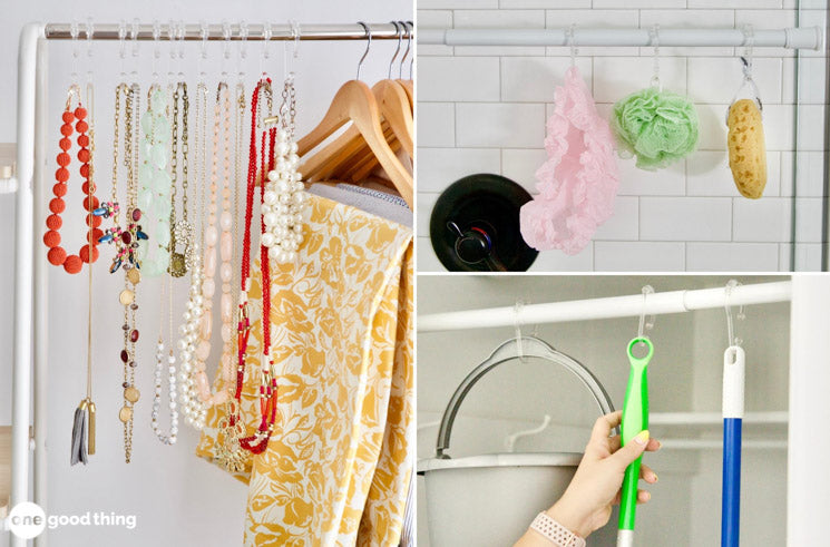 11 Surprisingly Useful Things You Can Do With Shower Rings