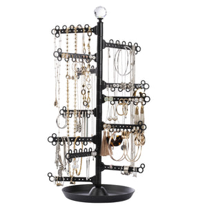 Jewelry Organizer ~ 12-Tier Stand ~ Black