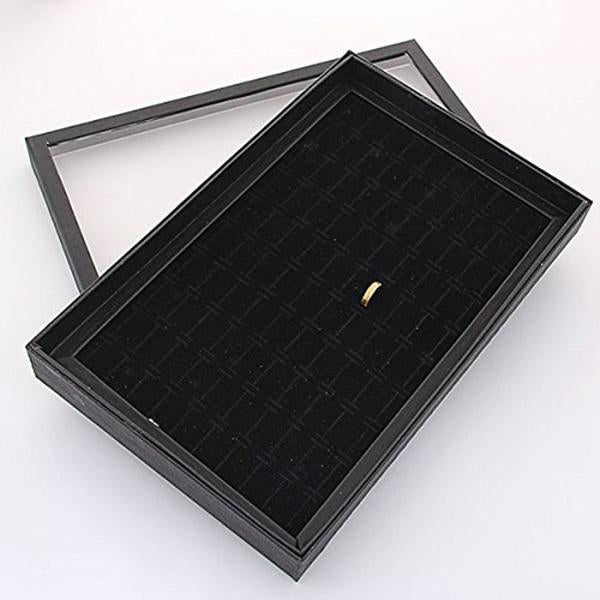 100 Slot Ear Studs Ring Storage Pin Show Box Organizer Storage Ear Display Box Jewelry Organizer Holder Show Case Rangement