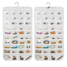Load image into Gallery viewer, 80 Pockets Hanging Jewelry Organizer Jewelry Storage Organizer For Holding Jewelries