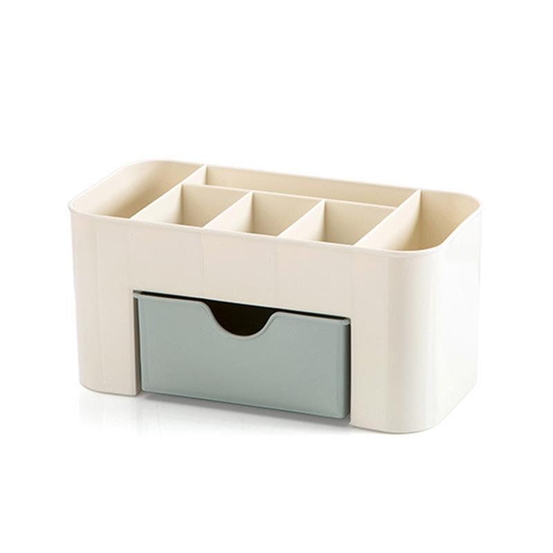 Plastic Desktop Cosmetics Storage Box Multifunctional Jewelry Organizer