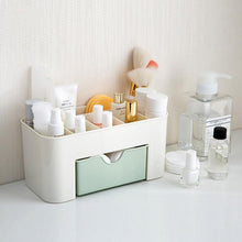 Load image into Gallery viewer, Plastic Desktop Cosmetics Storage Box Multifunctional Jewelry Organizer