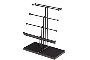 Related castlencia black velvet tray extra large 5 tier tabletop bracelet necklace earring display jewelry tree jewelry organizer holder