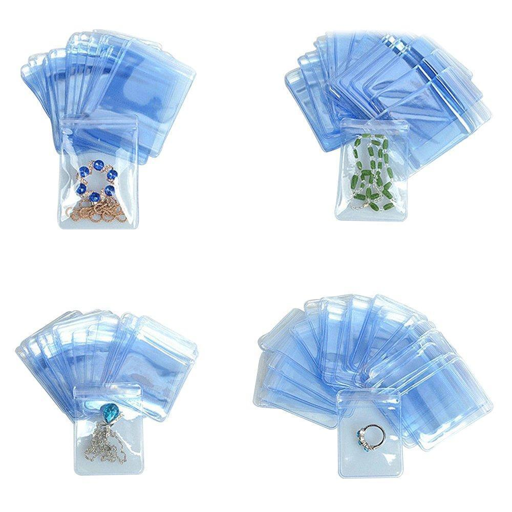 Shop 800 pcs pvc jewelry anti oxidation reclosable packaging bag clear ziplock plastic coin wallets storage envelopes poly pouches candy snack nuts food storage wrappers resealable 6x8cm 2 36x3 15 inch