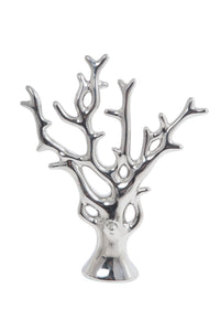 Explore newtech display jr tree sch jewelry tree holder silver chrome