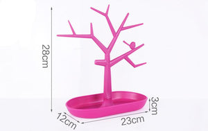 Plastic Bird Tree Jewelry organizer On Sale