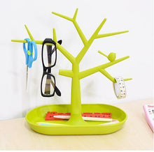 Load image into Gallery viewer, Plastic Bird Tree Jewelry organizer On Sale