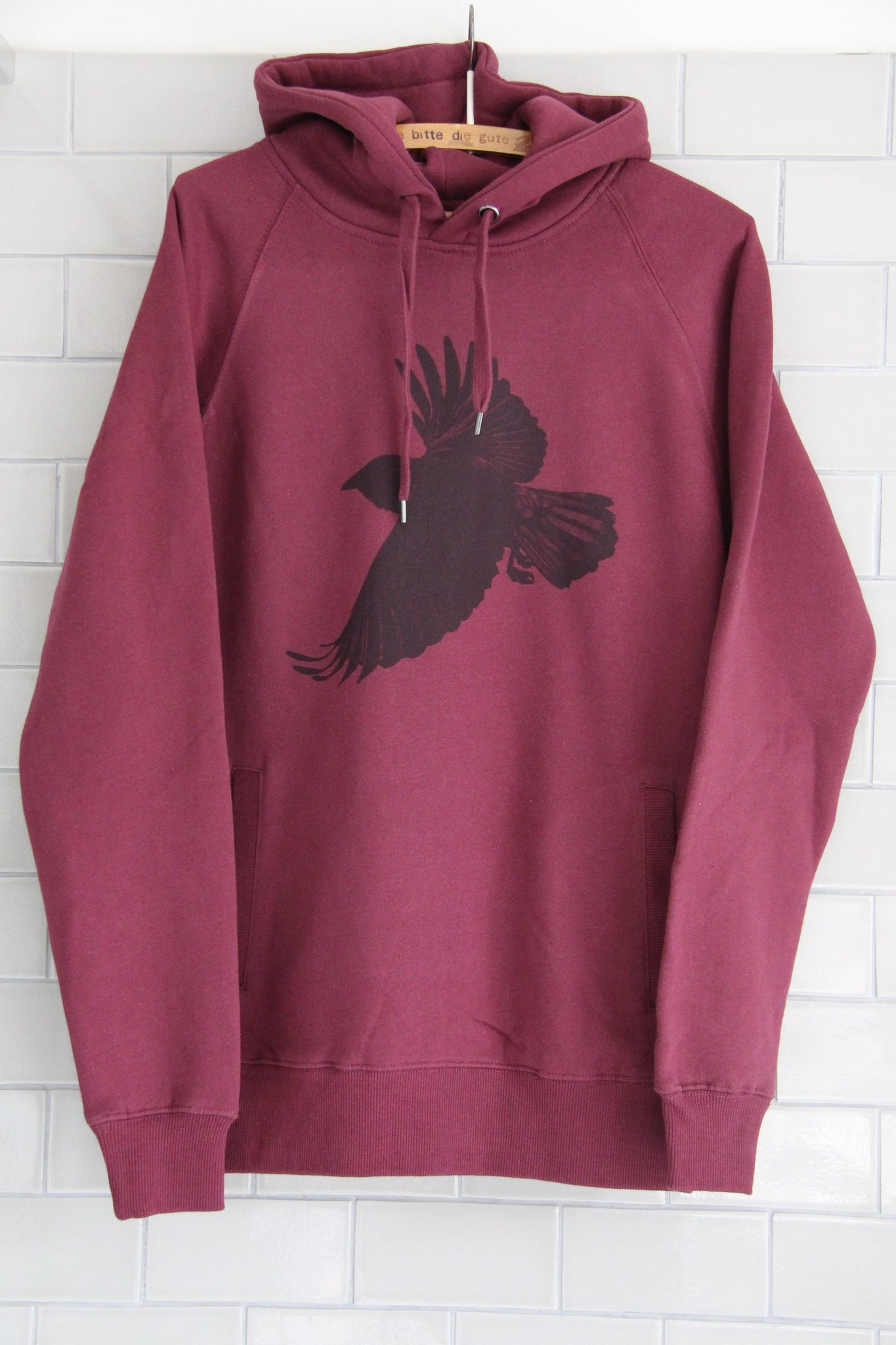 Window Dressing The Soul Crow Hoodie- RED