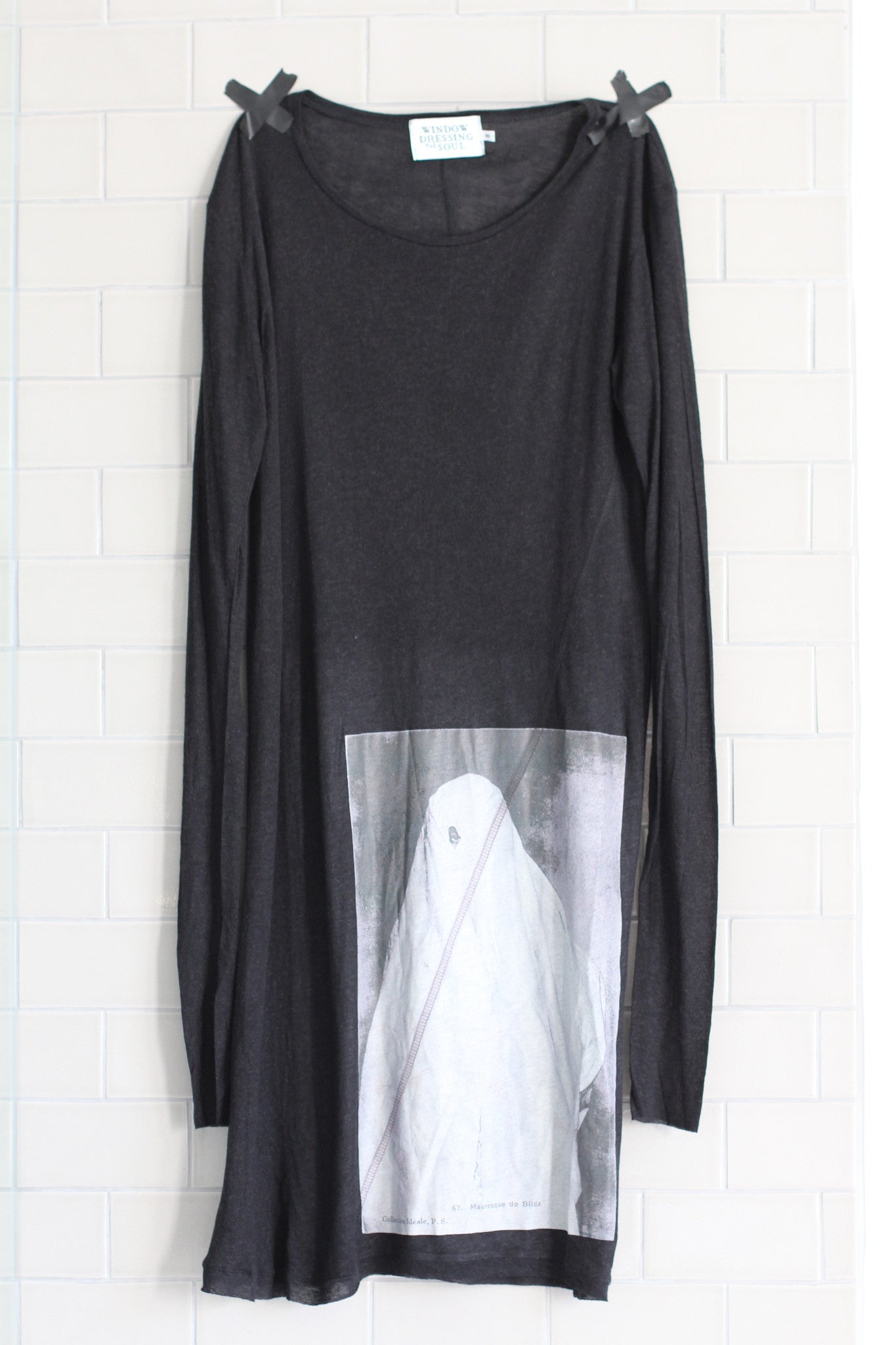 Window Dressing The Soul- Shrouded Figure Dress