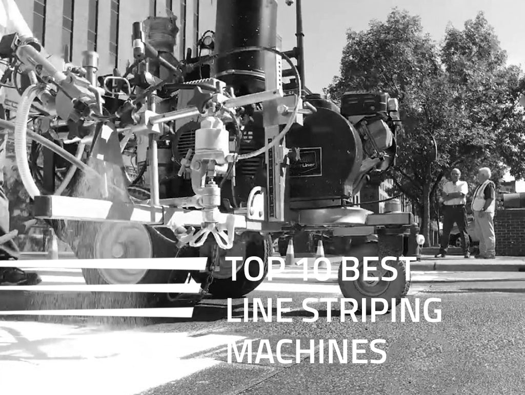 Top 10 Best Line Striping Machines - A Buyer's Guide