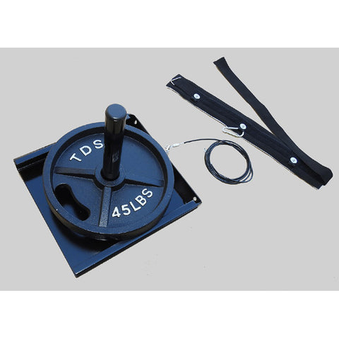 New York Barbell Drag Sled with Padded Harness TDS-11450