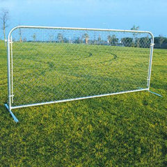 Portable Chain Link Fence Panels - Pitch Pro Direct