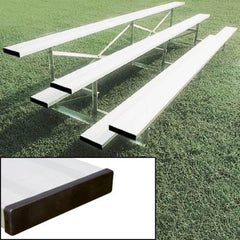 4 Rows Aluminum Bleachers without Fencing