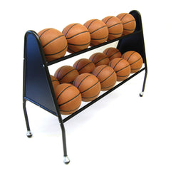 Trigon Sports Basketball 2 Tier 15 Ball Cart