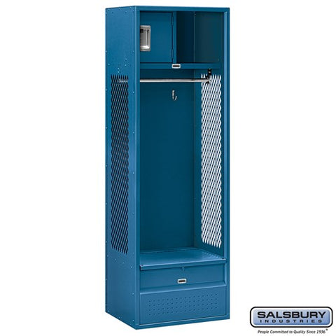 "Salsbury 24"" Wide Open Access Metal Locker"