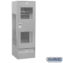"Salsbury 24"" Wide Vented Gear Metal Locker"