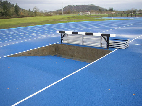 Gill Athletics Aluminum Steeplechase Water Jump Barrier Seal
