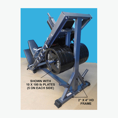 New York Barbells Super Leg Press and Hack Squat