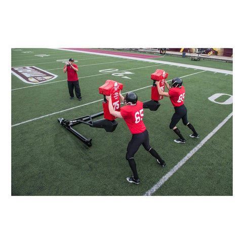 Rogers 3-Man Tek Football Blocking Sled - Pitch Pro Direct
