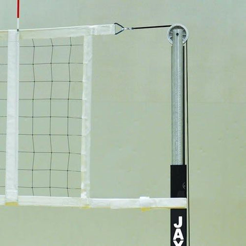 JayPro Flex Volleyball Net 32′ and 35′ Uprights - Pitch Pro Direct