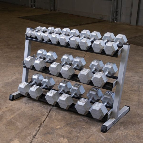"Body Solid 48"" 3-Tier Dumbbell Rack GDR48"