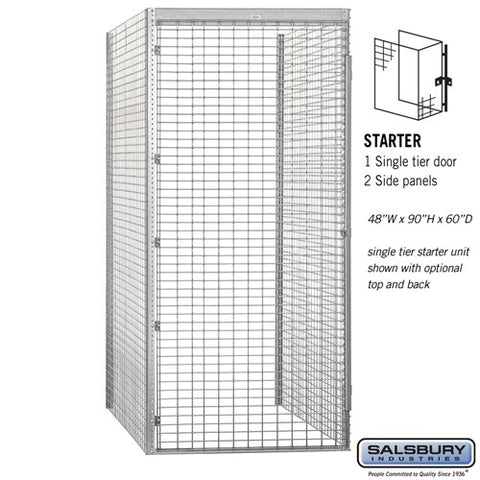 "Salsbury 48"" Wide Single Tier Bulk Storage Locker"