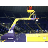 Gared Pro H Hydraulic Portable Basketball Backstop, 8' Boom