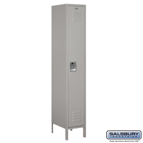 "Salsbury 15"" Wide Single Tier Standard Metal Locker - 1 Wide"