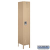 "Image of Salsbury 15"" Wide Single Tier Standard Metal Locker - 1 Wide"