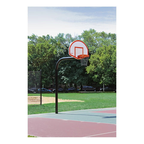 Gooseneck Basketball Systems with 6' Extension